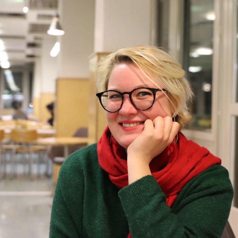 Veronika Kracher; Foto: Dennis Pesch